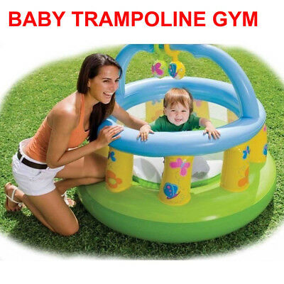 INTEX 48474 Inflatable Baby Bouncer Trampoline Gym Jumping Castle