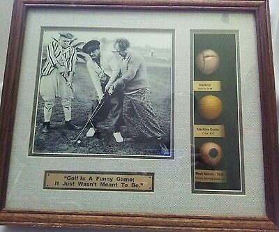 "Three Stooges ""Golf is a funny game; it just wasn't meant to be"" Shadow Box"