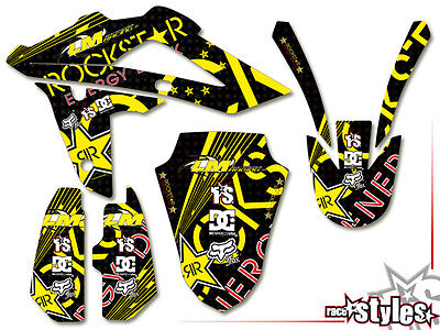 HUSQVARNA DEKOR SMS SMR TC TE WR WRE 125 450 510 570 610 630 GRAPHIC sticker KIT