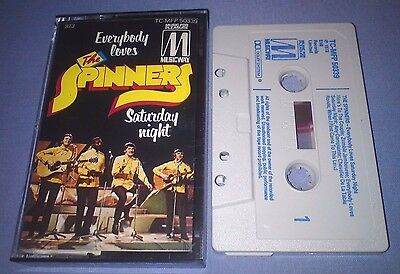 THE SPINNERS EVERYBODY LOVES SATURDAY NIGHT cassette tape album T2912