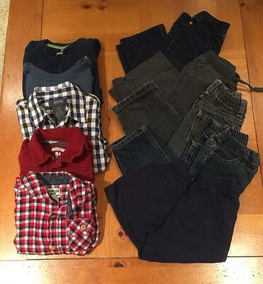 Toddler Boys Lot Of 10 Shirts And Pants 24 months