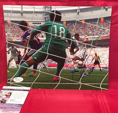 Tobin Heath Picture Autographed Signed 8X10 Photo Team Usa World Cup Goal Jsa