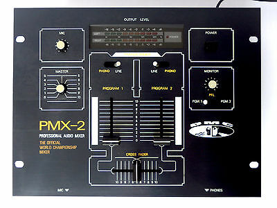 DMC PMX-2 The Official World Championship Mixer DJ Battle Mixer