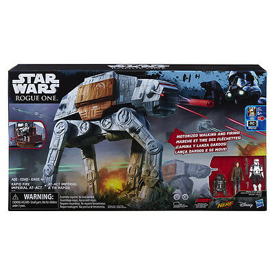 Star Wars Rogue One Rapid Fire Imperial AT-ACT - NEW