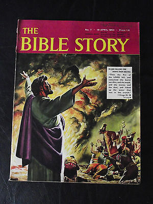 The Bible Story Magazine Issue Number 7 18 April 1964 Fleetway Publications