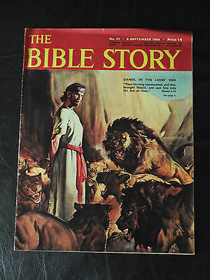 The Bible Story Magazine Issue Number 27 5 September 1964 Fleetway Publications