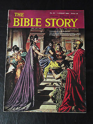 The Bible Story Magazine Issue Number 22 1 August 1964 Fleetway Publications
