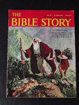 The Bible Story Magazine Issue Number 14 6 June 1964 Fleetway Publications