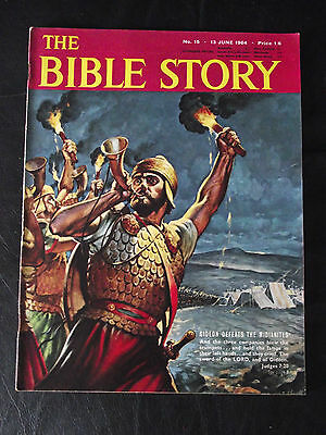 The Bible Story Magazine Issue Number 15 13 June 1964 Fleetway Publications