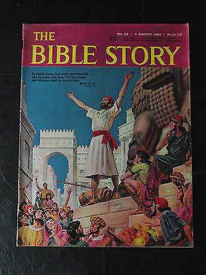 The Bible Story Magazine Issue Number 23 8 August 1964 Fleetway Publications