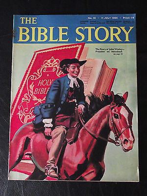 The Bible Story Magazine Issue Number 19 11 July 1964 Fleetway Publications
