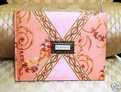 NEW Beautiful Guest Book by Anna Griffin in Rose Tones Blank Lined Pages LOVELY!