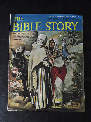 The Bible Story Magazine Issue Number 25 22 August 1964 Fleetway Publications