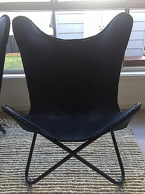 Freedom Black Leather Chairs