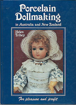 sale reduced PORCELAIN DOLLMAKING IN AUSTRALIA AND NEW ZEALAND BY HELEN TRIHEY