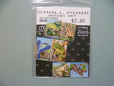 Australian Stamps - 1999 Small Pond Creatures (Design Set)