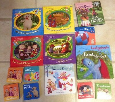 Collection of 14 In The Night Garden Books