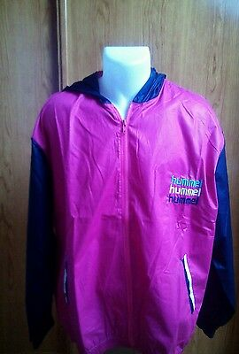 WINDBREAKER HUMMEL. ORIGINAL 80s VINTAGE M, L & XL. PERFECT CONDITION