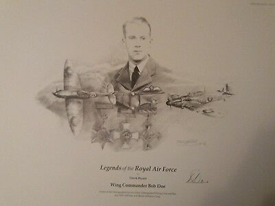Battle of Britain Signed Drawing Print