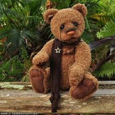 New Charlie Bears - Aloysius - Collectable Jointed Cuddly Soft Plush Teddy Bear