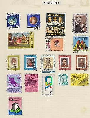 Ls74  Early Stamps Of Venezuela  From An Old Album
