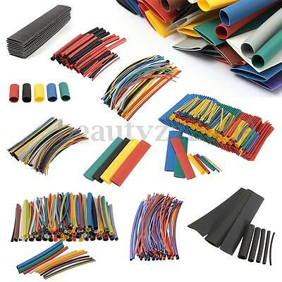 Assorted Heat Shrink Tube Car Wire Wrap Electrical Insulation Sleeving Tubing