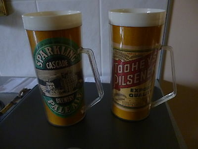 VINTAGE ALCOHOL ADVERTISING MUGS X 2 Assorted.