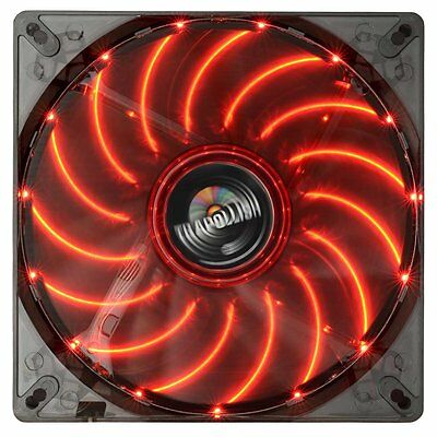 Enermax UCTA14N-R T.B.APOLLISH  red Gehäuse Lüfter 140 mm Rote LED, 15db, 750rpm