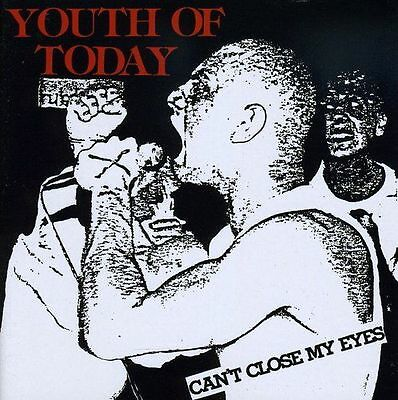 YOUTH OF TODAY - Can't Close My Eyes LP Vinyl hardcore punk coloured