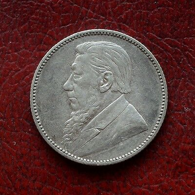 South Africa 1894 silver shilling