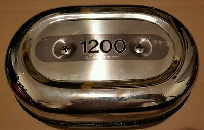 Harley Davidson 2002 XL1200C Sportster Air Cleaner Box Backplate