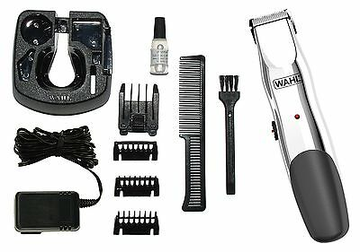 Wahl – 9916-1117 Groomsman Rechargeable Cordless Hair Trimmer Kit with Combs Oil