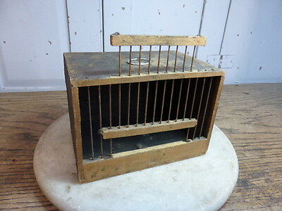 Antique French small bird (finch) carrier (no 2)