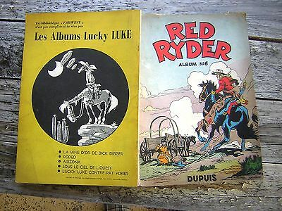 Red Ryder : Album N° 6 Eo Dupuis 1954.
