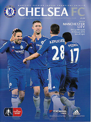 Chelsea v Manchester City (FA Cup 5th round) 21/2/16 (2015-2016)