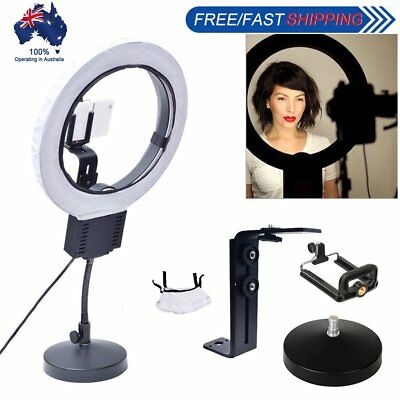 [AU] Studio Diva 40W Ring Light + Table Stand + Camera Phone Holder + Diffuser