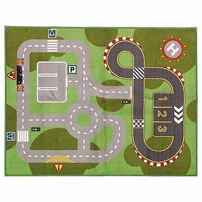 Street Car Rug Rode Play Colorful Bedroom Home Airplane Toy Kid Fun Nursery NEW