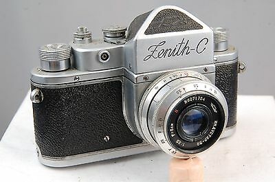 Zenith C camera with 5cm f3.5 Industar lens, excellent.