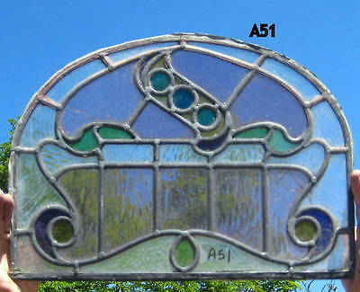 A51      Stained Glass window . Ca 1900