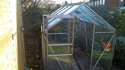 Glass greenhouse 8ft x 6ft