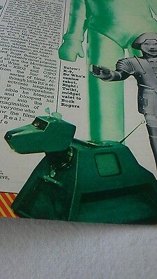 Hitch Hikers Guide to the Galaxy MARVIN MEMORABILIA Doctor Who Star wars vintage