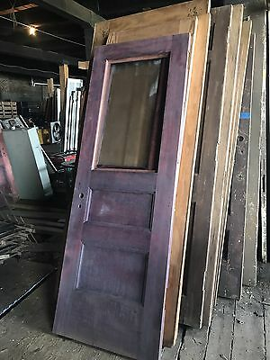 "Antique Door From Studebaker Offices We have 20- 36"" x83"" X1.75"" doors left."