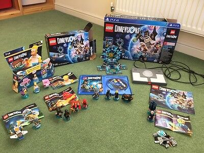 LEGO Dimensions Starter Pack PS4 And Extra Packs