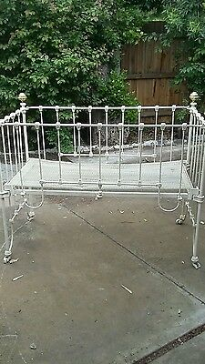 Antique Cast Iron Cot