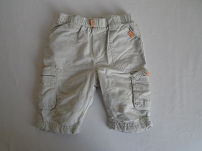 Next Fully Lined Boy's Casual Beige Trousers 0-3 Months