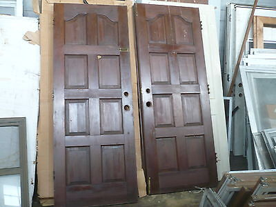 *Vintage  Solid Wood Double Doors