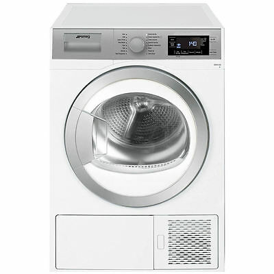 Smeg Freestanding Condenser Dryer DHT81LUK - 8 kgs load A+ energy class