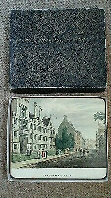 oxford university vintage table mats by Sewell & son