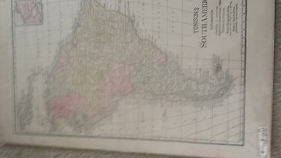 Tunison's map of South America