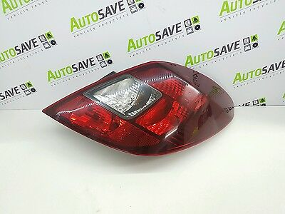 Vauxhall Corsa D - 5 Door - Complete Drivers Side O/s Rear Light Unit - 13296480